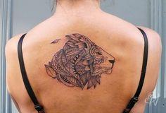 outstanding-african-lion-tattoo-design-for-women.jpg (750×510)