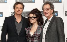 """Helena Bonham Carter Colin Firth Photos - Photo call for """"The King's Speech"""" at the Vue Cinema as part of the 54th BFI London Film Festival. - """"The King's Speech"""" Photo Call at the London Film Festival"""