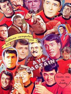 Star Trek Collage--Montgomery Scott Edition
