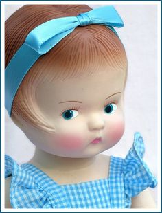 Patsy and all of her sisters are among my favorite dolls.  There is just something about her cute expression that I find enchanting! Girls who truly loved their dolls growing up never outgrow them!