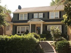 dutch colonial revival home in Seattle