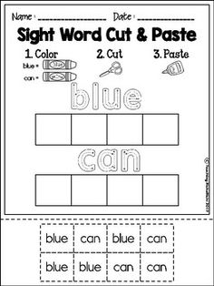 Free CVC Worksheets SAMPLER | TpT FREE LESSONS | Pinterest