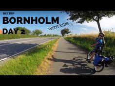 Bornholm rowerem z dziećmi - Dzień 2 - Jons Kapel, Hammershus, Opalsøen, Sandkaas Familiecamping - YouTube