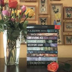 Today we are sharing some #authorlove and I wanted to share one of my favorite authors that I feel like I dont talk about enough! @katucker_ is absolutely amazing! I read Ten Tiny Breaths in 2012 and fell for her witting her characters and her story telling. Ever since then I have read every book you see here. Ive loved them all! Whether she is writing contemporary or romantic thrillers Im hooked every single time! She is on my auto-buy list and I will be a fan for life! If youre ever…