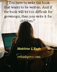 Oh how I loved Madeleine L'Engle as a child. And now. Even still.
