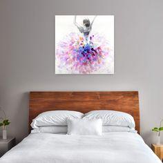 Acryl Gemälde 'Primaballerina' 100x100cm
