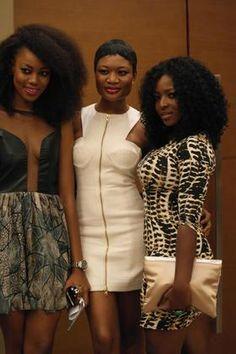 yvonne nelson, okoro & Sandra  ~African fashion, Ankara, kitenge, African women dresses, African prints, African men's fashion, Nigerian style, Ghanaian fashion ~DKK
