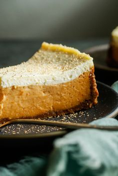 This recipe is adapted from a popular dessert served at Galatoire's, a famed New Orleans restaurant founded on Bourbon Street, in 1905. A simple graham cracker crust is filled with cinnamon-spiced sweet potato cheesecake then topped with a lightly-sweetened layer of sour cream. It is to die for. (Photo: Craig Lee for NYT)