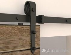 Wholesale cheap barn door hardware online, Steel - Find best Arrow stylish Antique black wooden sliding barn door hardware Interior American sliding barn door track kit at discount prices from Chinese Other Building Supplies supplier - diyhd on DHgate.com.