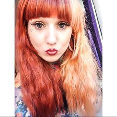 Fluffy wig . Chocolate orange by @lush_wigs #lushwigs by natasha_ferris