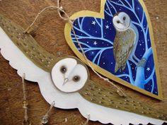 Owl Hangings #owl #owls #crafts