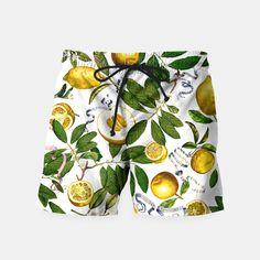 Lemon Tree Swim Shorts white by Fifikoussout 29.95€