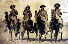 Custers Scouts for the 7th Cavalry.    http://www.wrtcleather.com/1-ckd/scouts/custer-scouts.jpg