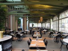 Cafe Restaurant De Plantage opened its doors and it is perfect! A 19th century conservatory next to the zoo (Artis).