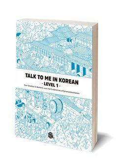 Talk To Me In Korean TTMIK Level 1 Grammar Textbook Hangul Self Study Language    eBay