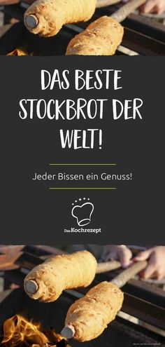 Das beste Stockbrot Stock bread is simply part of the summer. For everyone who has never tried it or has always been looking for the right recipe: here it is! Spareribs, Vestidos Vintage, Bratwurst, Food Items, Eating Habits, Gnocchi, Pasta Recipes, Grilling, Food And Drink
