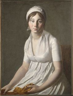 Portrait of a Young Woman by Circle of Jacques-Louis David, c. 1800
