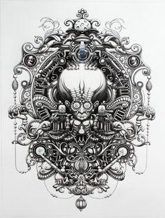Cool pencil drawning - by Joe Fenton