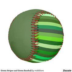 Green Stripes and Green Baseball