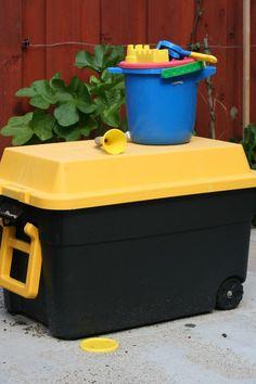 Hmmmm - portable sandbox/water play?
