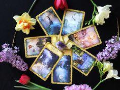 Magic moon tarot - Czech version Tarot, Moon, Magic, Flowers, The Moon, Royal Icing Flowers, Flower, Tarot Cards, Florals