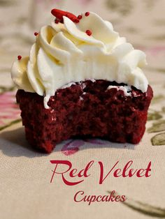 Red Velvet Cupcakes :)