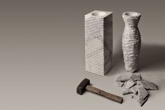 moodLKI.com: Introverso2_marble vase by Paolo Ulian & Moreno Ra...