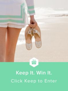 Win your next pair of Jacks from @JackRogersUSA & @keep! #keepitwinit