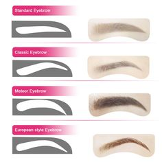 Eyebrow Stencil Ruler for Eyebrows Enhancer Permanent Tattoo Eye Brow -- Check out the image by visiting the link. (This is an affiliate link) Permanent Eyebrow Tattoo, Permanent Makeup Eyebrows, Eyebrow Stencil, Eyebrows On Fleek, Eyebrow Makeup, Eyebrow Template, Makeup Tools, Makeup Tutorials, How To Color Eyebrows
