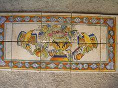 Maioliche dipinta a Mano COMED Ceramiche #maiolica #majolica ...