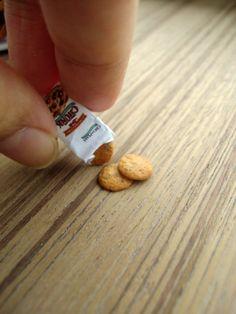 Miniature Choc Chip Cookies 1-12  by ~Snowfern