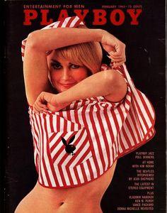 Playboy Feb 1965 Gift Present Glamour Vintage Retro Original Magazine Teddi Smith cover model Magazine Wall, Male Magazine, Magazine Covers, Hustler Magazine, Club Magazine, Pin Up, John Lennon Paul Mccartney, Kim Novak, Glamour Magazine