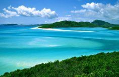 The Whitsunday Islands in Australia, the most beautiful place I've ever been.
