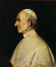 Bild: Franz von Lenbach - Papst Leo XIII.