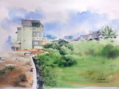 [21.08.2015] Home, back in 2008 #watercolor