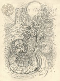 The Chalice Well by Lisa Hunt (from the eBook, 'Soul Drawings')