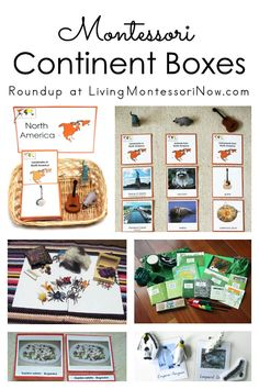 Roundup with a long list of ideas for Montessori continent boxes for classroom or homeschool . perfect for hands-on geography activities for preschoolers - Living Montessori Now Montessori Practical Life, Montessori Homeschool, Montessori Classroom, Montessori Toddler, Preschool Curriculum, Montessori Activities, Montessori Elementary, Homeschooling, Kindergarten