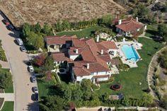 Justin Bieber's sprawling $6.5 million estate is located in a prestigious gated community in Calabasas, CA.