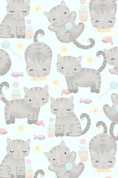 Kitten Cuteness Overload Art Print by Noonday Design | Society6