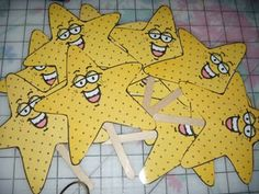 Magic Singing Stars - kids who sing well get a star and at the end get to come up and hold it for the last song.