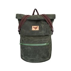 Color: Pine Green Product Type: Roll-top backpack Weight: 900 g Carries: Max. 5-7 Kg Dimensions: 38 (30 cm) x 60 (43 cm) x 9 cm width on top (on bo...