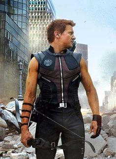 Jeremy Renner | Clint Barton/Hawkeye  in The Avengers (2012)