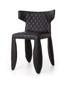 A soft, puffy and stylish chair as symbol of the eternal battle between opposite forces that take pl Diy Furniture Polish, Cool Furniture, Stylish Chairs, Cool Chairs, Antique Chairs, Vintage Chairs, Armless Chair, Armchair, Gold Accent Chair