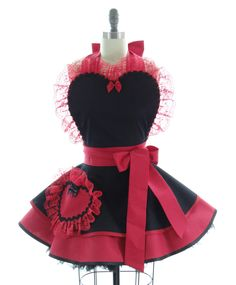 Spanish French Maid Apron