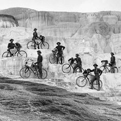 """African American """"Buffalo Soldiers"""" and their 3,058 km expedition (1897)  Just as #bicycles were becoming #popular in North #America and #Europe, the 25th United States Infantry Bicycle Corps was formed in Fort Missoula, #Montana. The regiment was made up of African-American men in the #army known as """"#BuffaloSoldiers"""" at that time. In 1897, they set out on an #expedition to test how useful bicycles could be to the #military in mountainous areas, traveling across the country all the way…"""