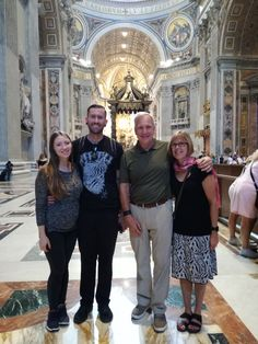 Can you imagine a better way of seeing St Peter's Basilica than without any crowds? This was what our clients got to do on September 15th! This was a great tour because our clients got to see all of the paintings in the Sistine Chapel, Raphael Rooms, Gallery of Maps and much more! For more information on our Vatican Early entrance tour: www.livitaly.com/tour/early-entrance-vatican-small-group-tour/?src=pinterest