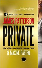 'Private' by James Patterson and Maxine Paetro ---- The police can't help youFormer CIA agent Jack Morgan runs Private, a renowned investigation company with branches around the globe. James Patterson, Reading Lists, Book Lists, Reading 2016, Love Book, Book 1, Fiction Books, Paperback Books, Great Books