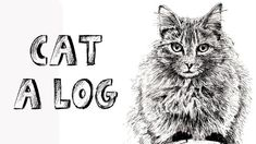 How to draw a Cat on a Log in Pen and Ink - Online Art Lessons