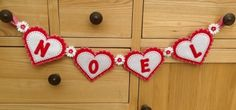 Noel Christmas Bunting - MADE TO ORDER