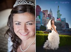 Las Vegas Wedding Photographer, beautiful, custom designed wedding dress